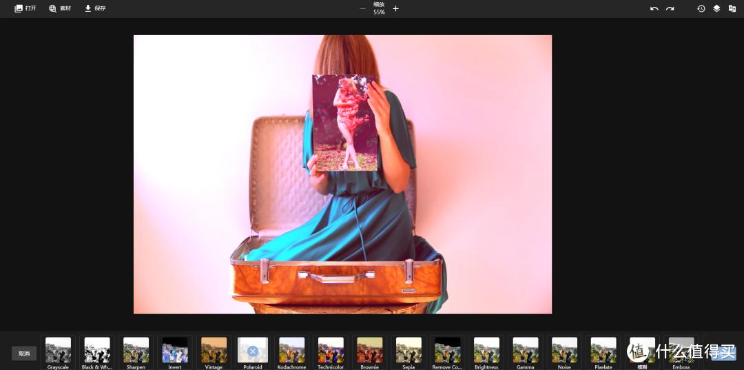 PhotoKit在线图片编辑器